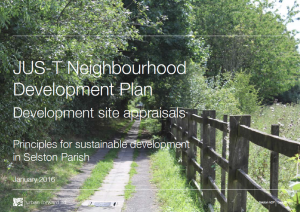 Site Appraisal front cover